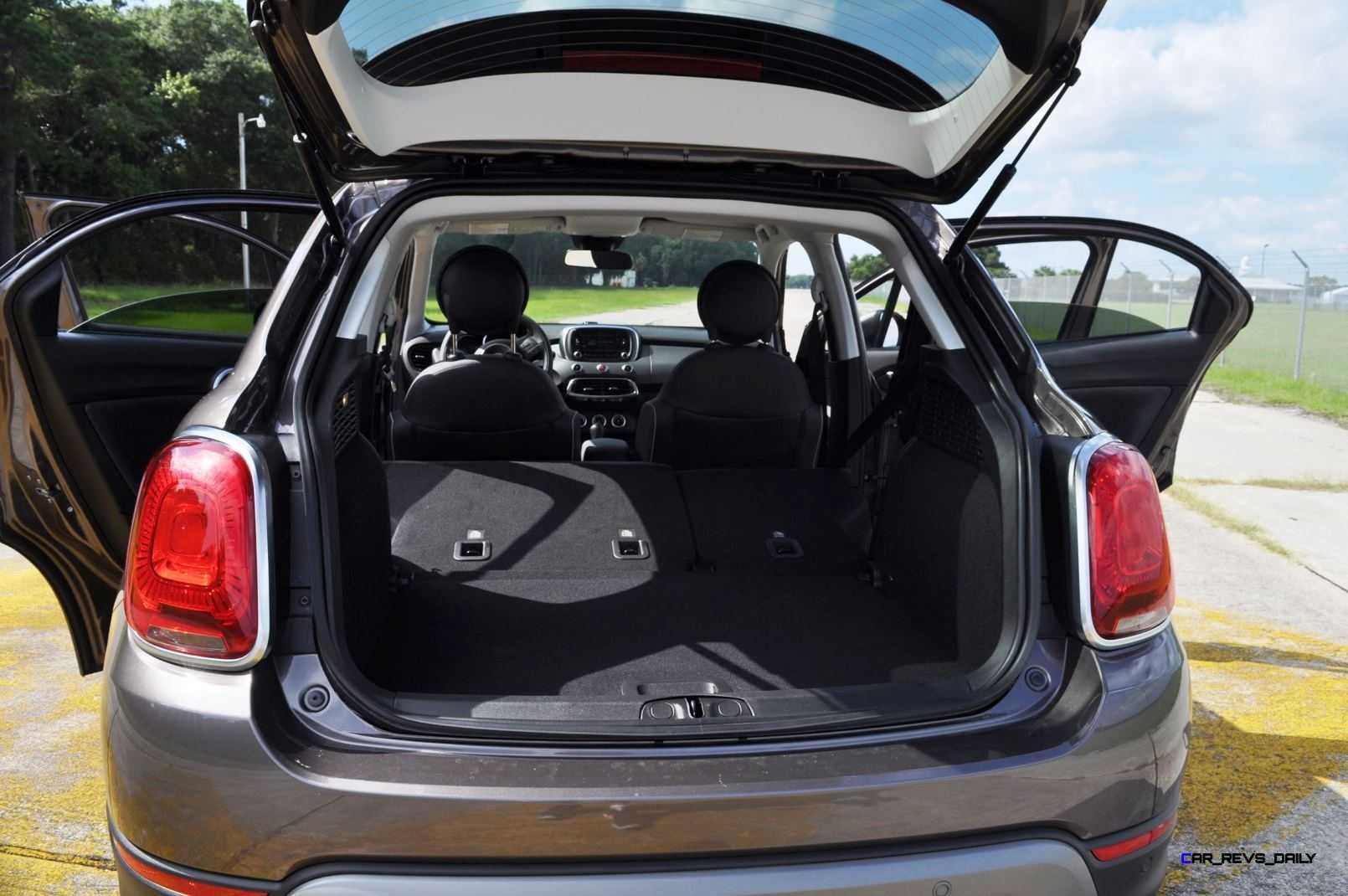 2016 Fiat 500x Interior 18 Car Revs