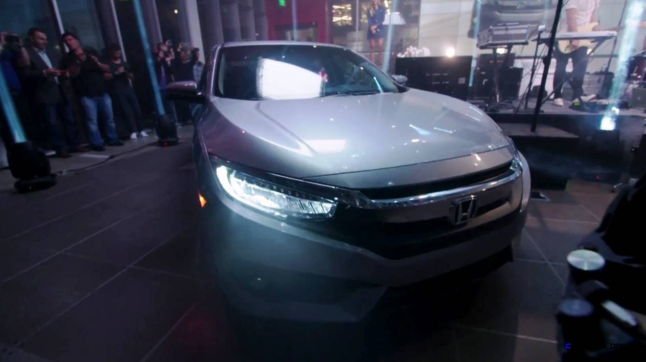 2016 honda civic sedan   70 image reveal of lux new look 1 5l turbo