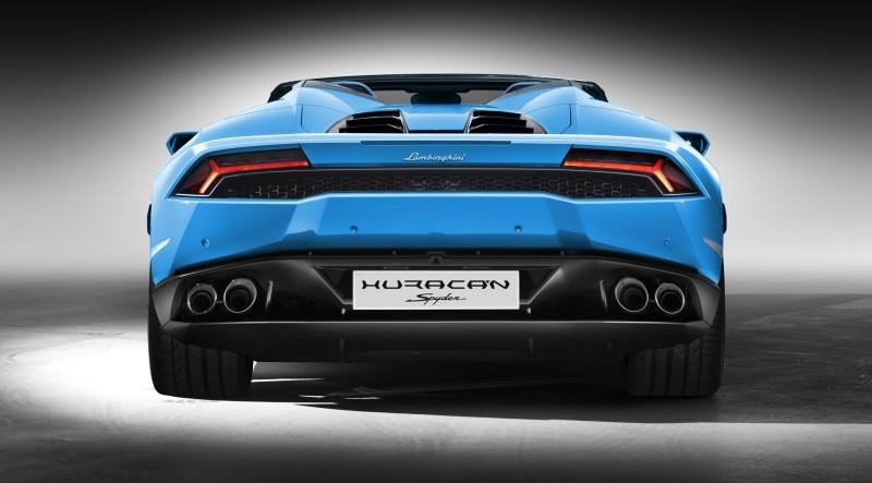 2016 Lamborghini Huracan LP 610-4 Spyder 10