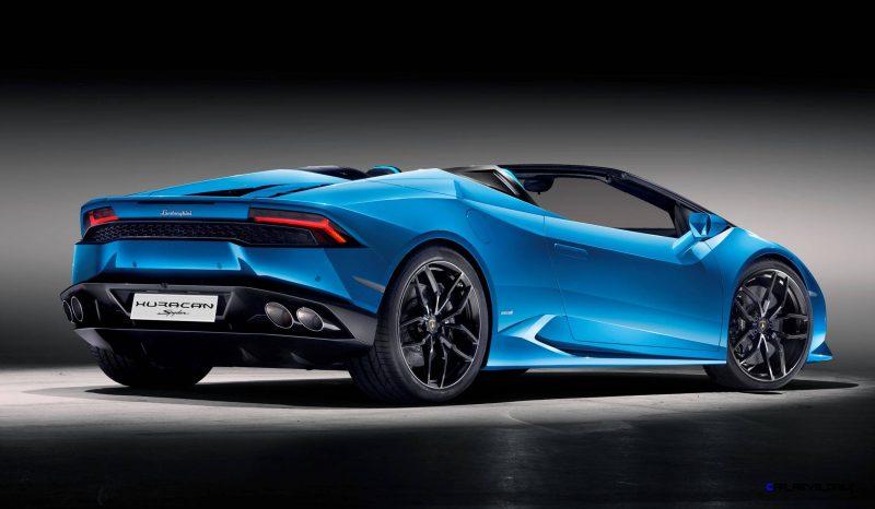2016 Lamborghini Huracan LP 610-4 Spyder 12