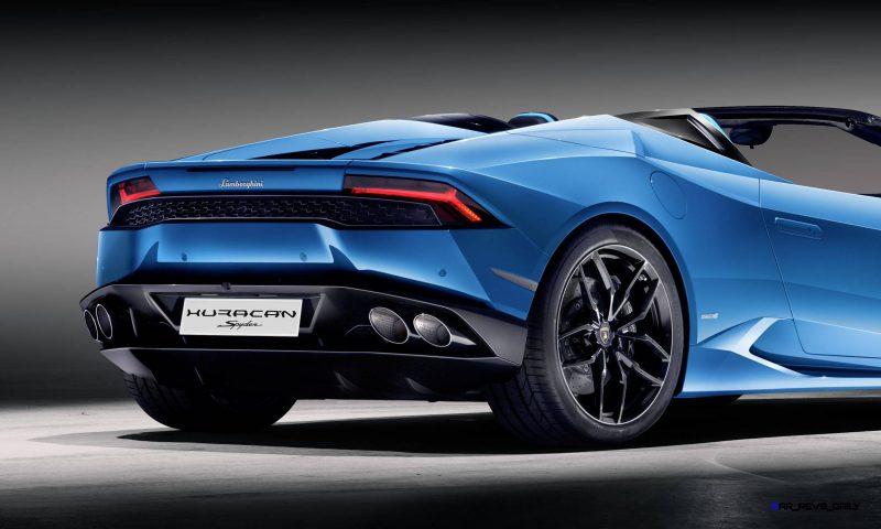 2016 Lamborghini Huracan LP 610-4 Spyder 13