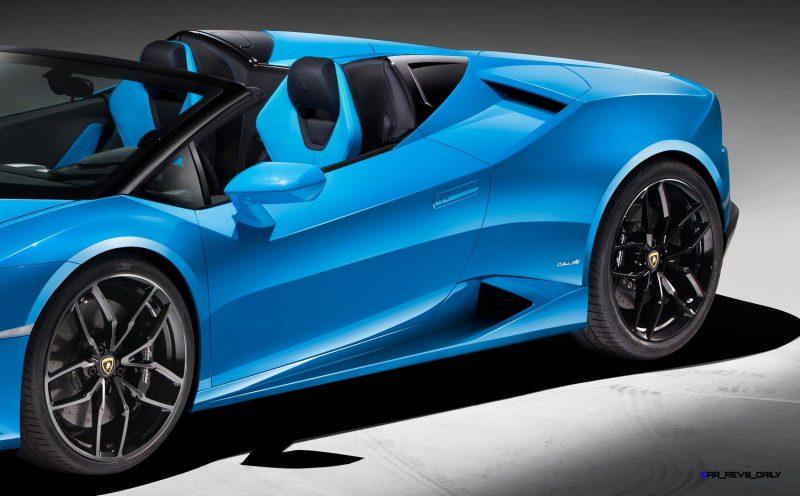 2016 Lamborghini Huracan LP 610-4 Spyder 17