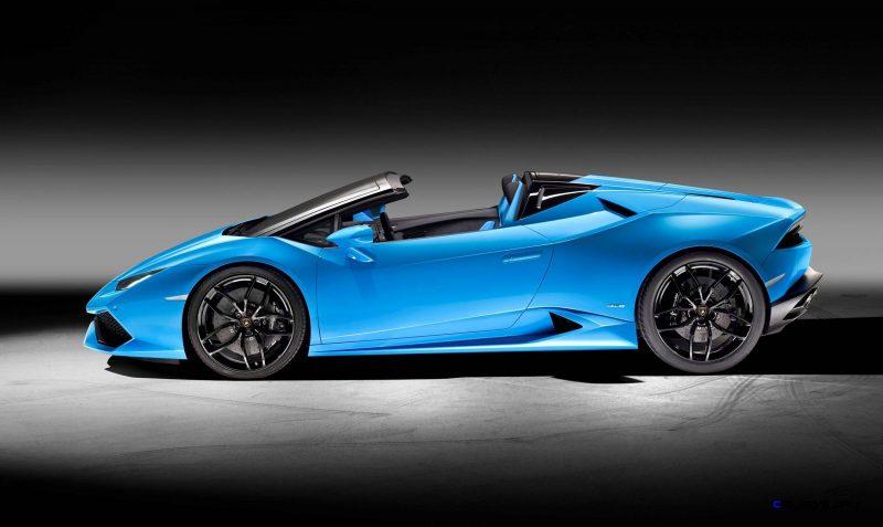 2016 Lamborghini Huracan LP 610-4 Spyder 3
