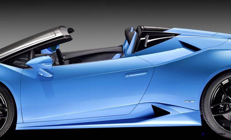 2016 Lamborghini Huracan LP 610-4 Spyder 4