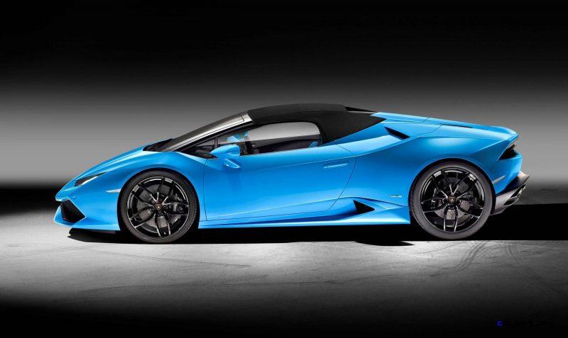 2016 Lamborghini Huracan LP 610-4 Spyder 5