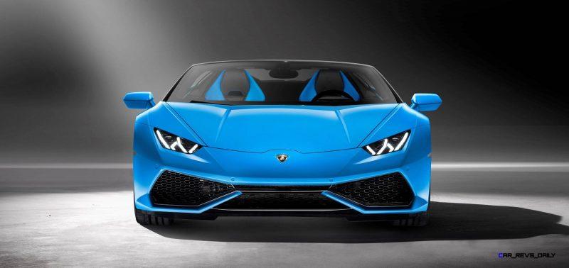 2016 Lamborghini Huracan LP 610-4 Spyder 8