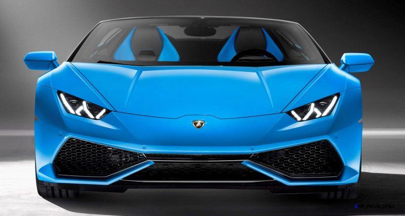 2016 Lamborghini Huracan LP 610-4 Spyder 9