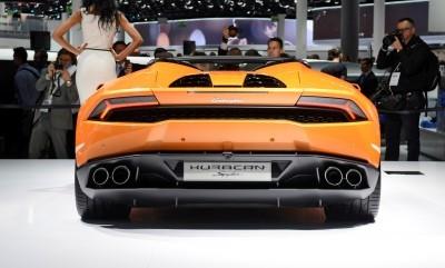 2016 Lamborghini Huracan SPYDER - Frankfurt IAA 12