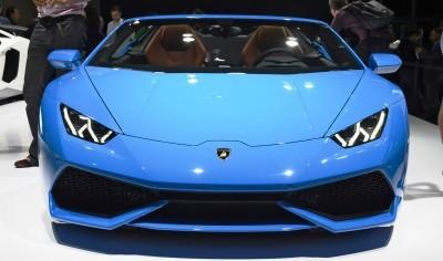 2016 Lamborghini Huracan SPYDER - Frankfurt IAA 5