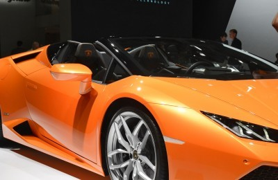 2016 Lamborghini Huracan SPYDER - Frankfurt IAA 8
