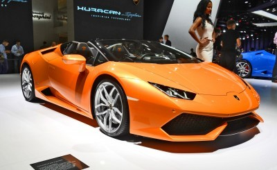 2016 Lamborghini Huracan SPYDER - Frankfurt IAA 9