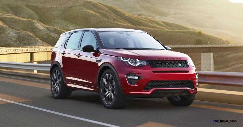 2016 Land Rover Discovery Sport DYNAMIC Edition 5
