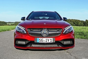 2016 Mercedes-AMG C63-S Estate Up to 640HP Via WIMMER RennSportTechnik