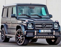 2016 G-Class Adds New Colors, Black Packs and Designo Cabin + We Rename The Colors V Offensively