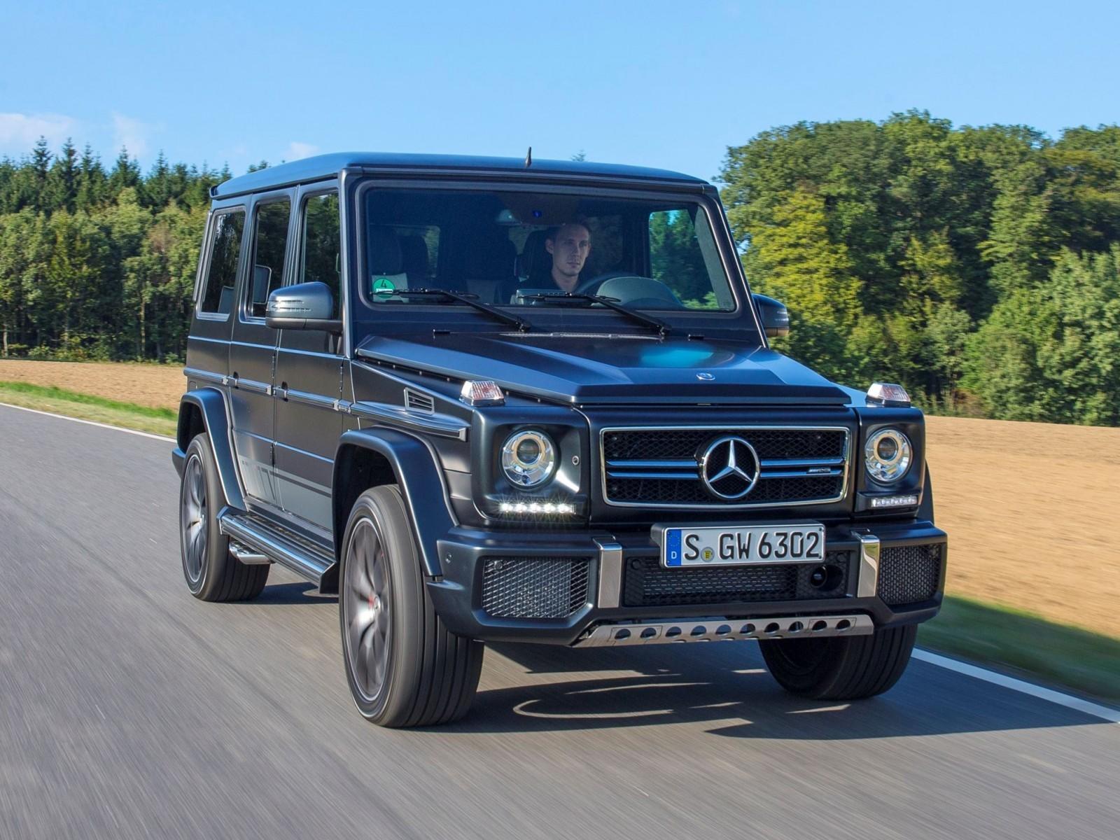 2016 mercedes benz g class g500 g63 2 for Mercedes benz truck g class