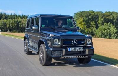 2016 Mercedes-Benz G-Class G500 G63 2