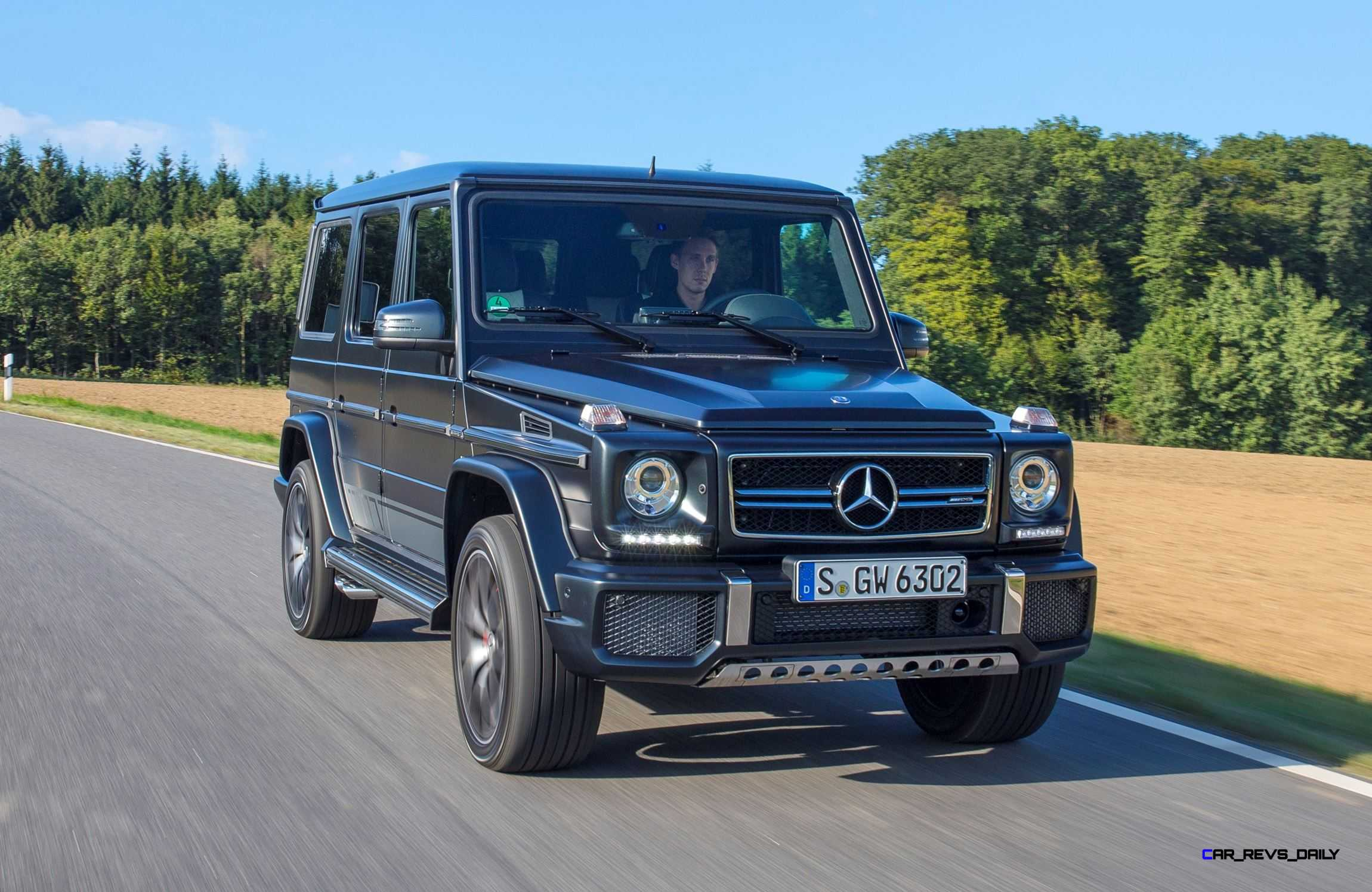 2016 mercedes benz g class g500 g63 2 for Mercedes benz g500