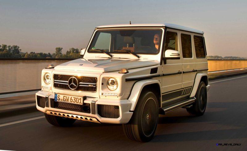 2016 Mercedes-Benz G-Class G500 G63 37