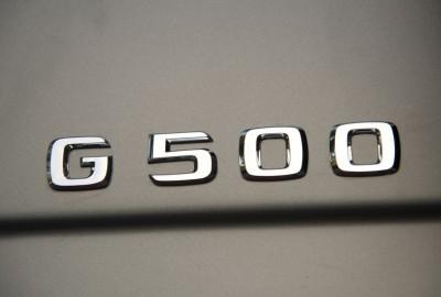 PTD G – Experience Frankfurt September 2015 G 500 designo platin magno Interieur designo Leder sand AMG Carbon