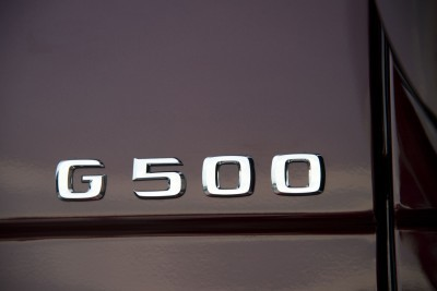 PTD G – Experience Frankfurt September 2015 G 500 designo mysticrot bright Inerieur Designo Leder Porzellan AMG Carbon