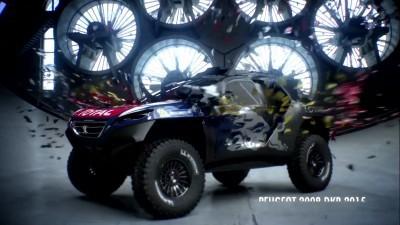 2016 Peugeot DKR16 Animated Evolution Stills 10