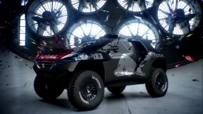2016 Peugeot DKR16 Animated Evolution Stills 11
