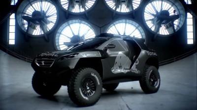 2016 Peugeot DKR16 Animated Evolution Stills 14