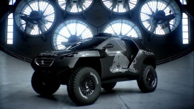2016 Peugeot DKR16 Animated Evolution Stills 15