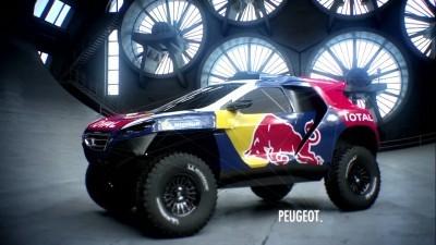 2016 Peugeot DKR16 Animated Evolution Stills 2