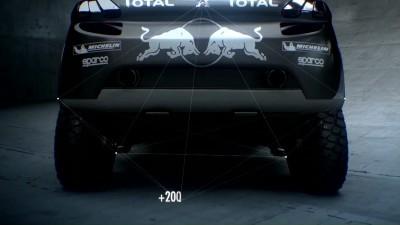 2016 Peugeot DKR16 Animated Evolution Stills 21