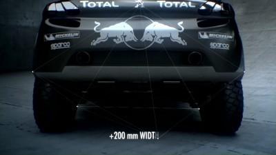 2016 Peugeot DKR16 Animated Evolution Stills 22