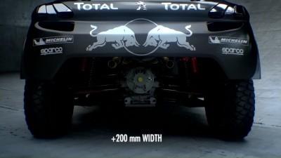 2016 Peugeot DKR16 Animated Evolution Stills 24
