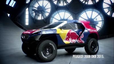 2016 Peugeot DKR16 Animated Evolution Stills 3