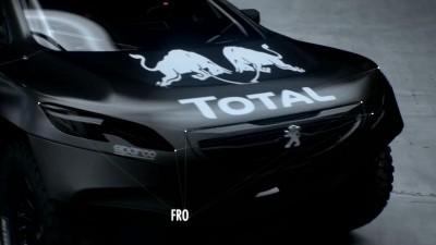 2016 Peugeot DKR16 Animated Evolution Stills 37