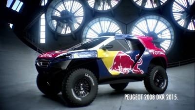 2016 Peugeot DKR16 Animated Evolution Stills 4