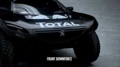 2016 Peugeot DKR16 Animated Evolution Stills 40