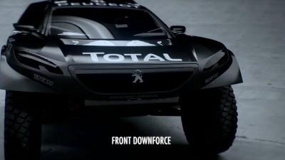 2016 Peugeot DKR16 Animated Evolution Stills 42