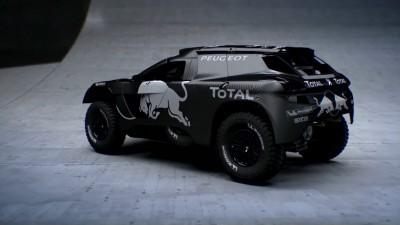 2016 Peugeot DKR16 Animated Evolution Stills 54
