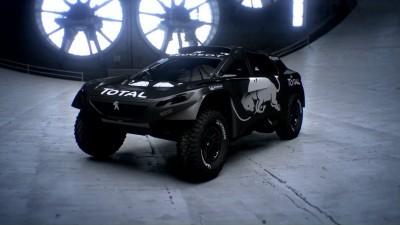 2016 Peugeot DKR16 Animated Evolution Stills 55