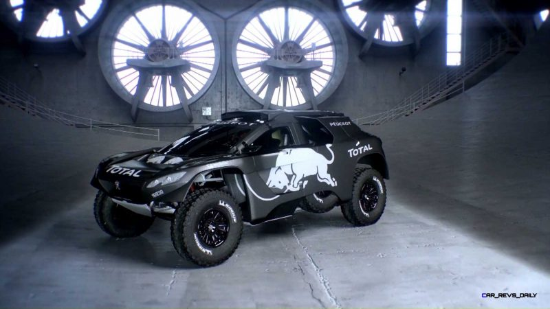 2016 Peugeot DKR16 Animated Evolution Stills 58
