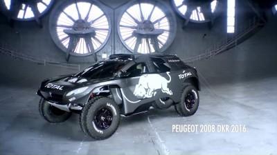 2016 Peugeot DKR16 Animated Evolution Stills 59