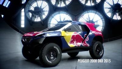 2016 Peugeot DKR16 Animated Evolution Stills 6