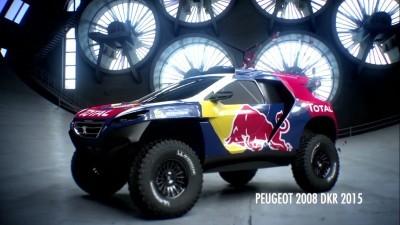 2016 Peugeot DKR16 Animated Evolution Stills 7