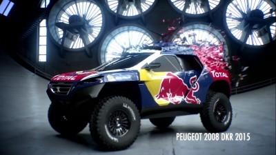 2016 Peugeot DKR16 Animated Evolution Stills 8