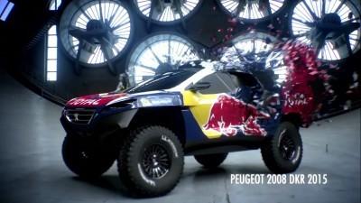 2016 Peugeot DKR16 Animated Evolution Stills 9