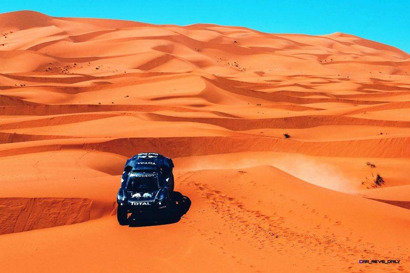 2016 Peugeot DKR16 Rally Racer 10