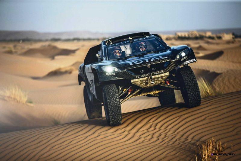 2016 Peugeot DKR16 Rally Racer 11