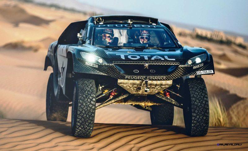 2016 Peugeot DKR16 Rally Racer 12