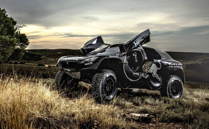 2016 Peugeot DKR16 Rally Racer 14