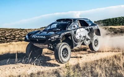 2016 Peugeot DKR16 Rally Racer 15